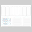 Kalender Schreibtischunterlage A2 Querformat