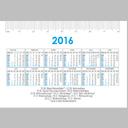 Taschenkalender Querformat