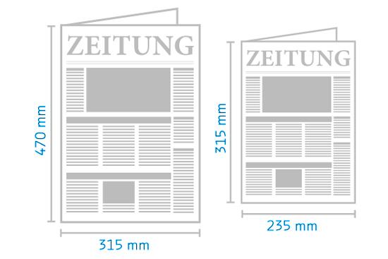 Berliner Format und Halbes Berliner Format