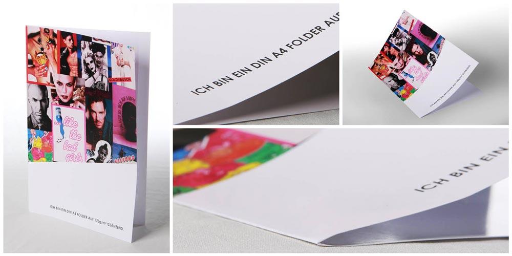 Folder DIN A4